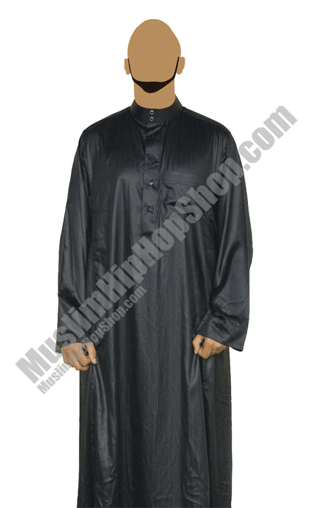 Black lined Jubba throbe