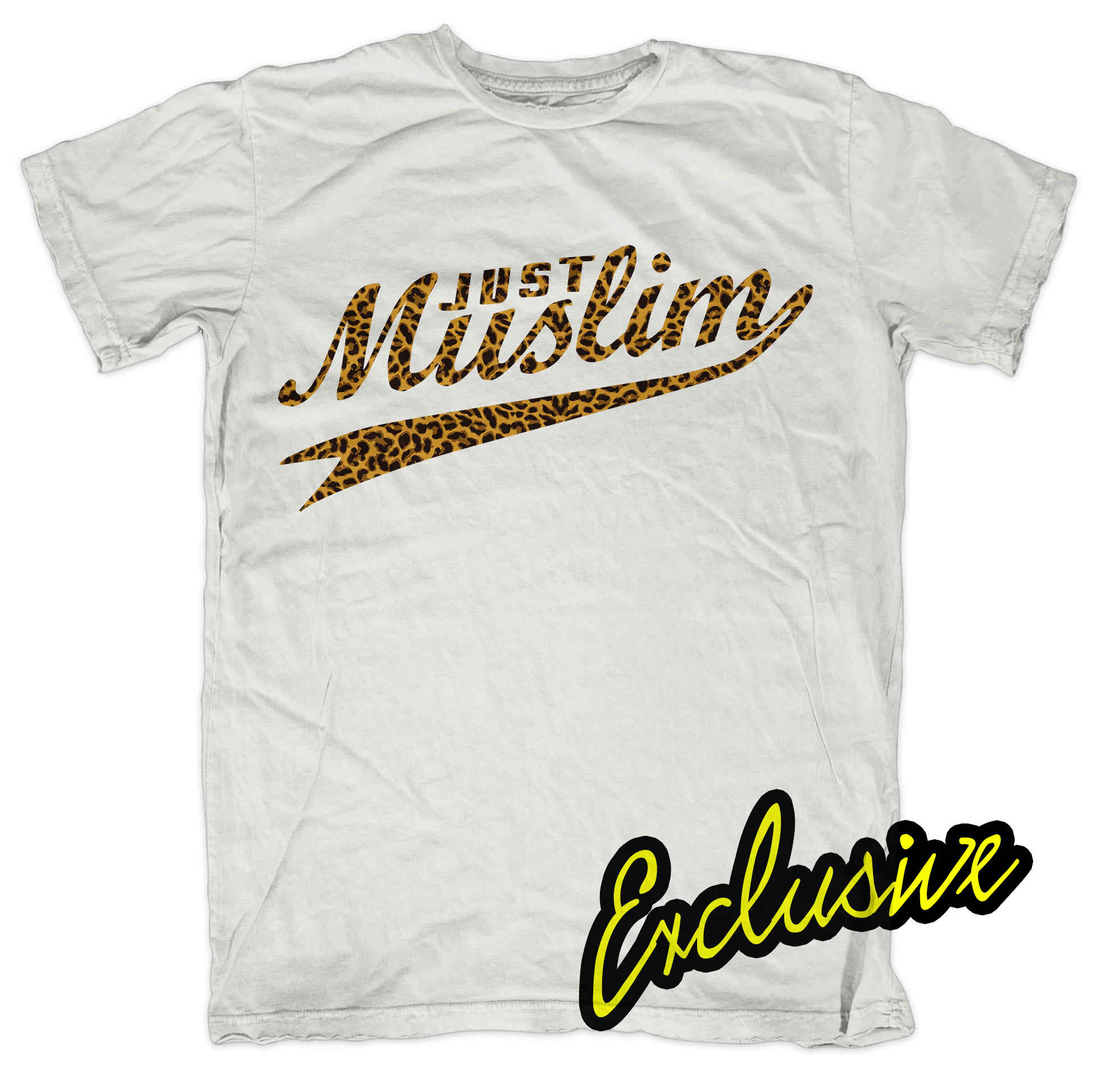 Design t shirt muslim - White Muslim Design T Shirt