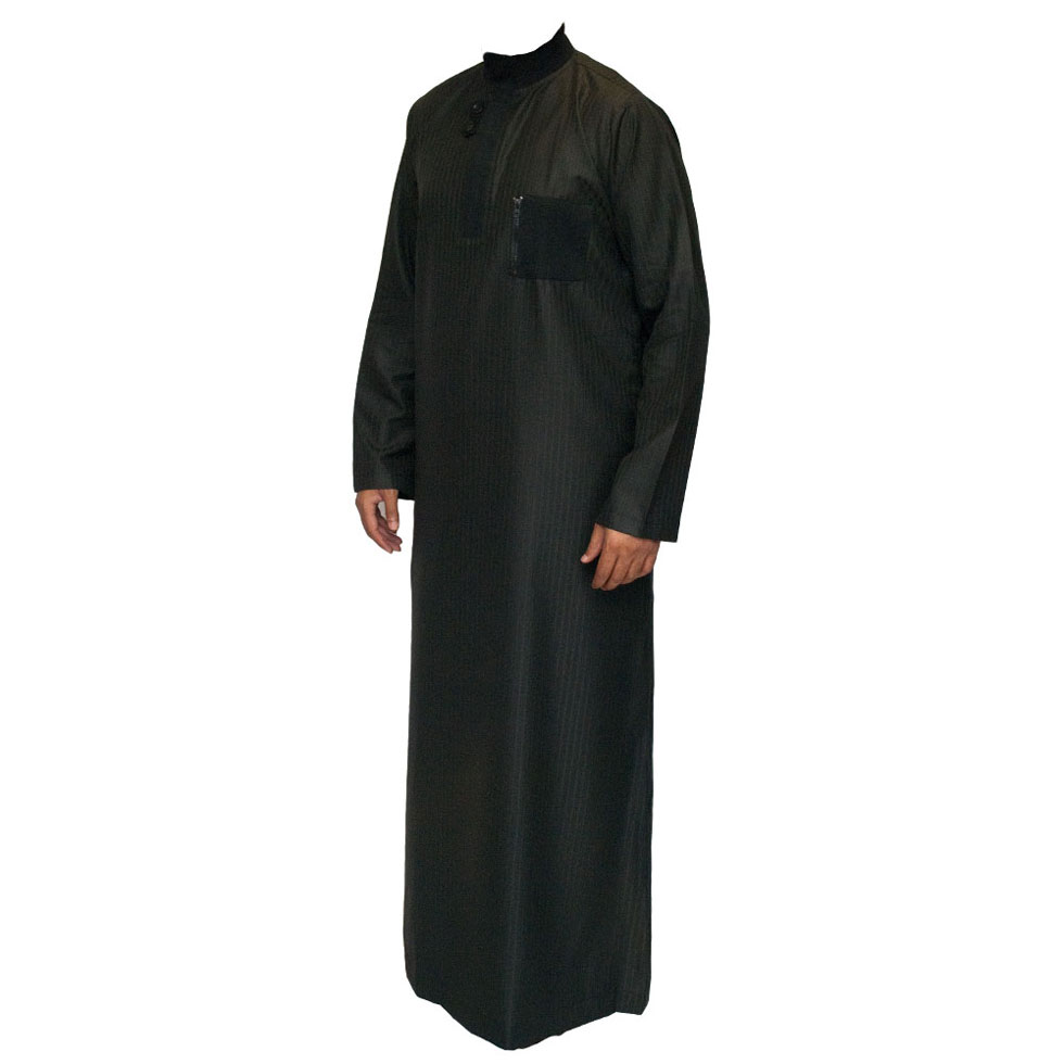 Black Double Loopy Jubba Thobe