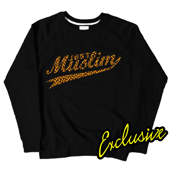 Black Muslim Design Sweatshirt