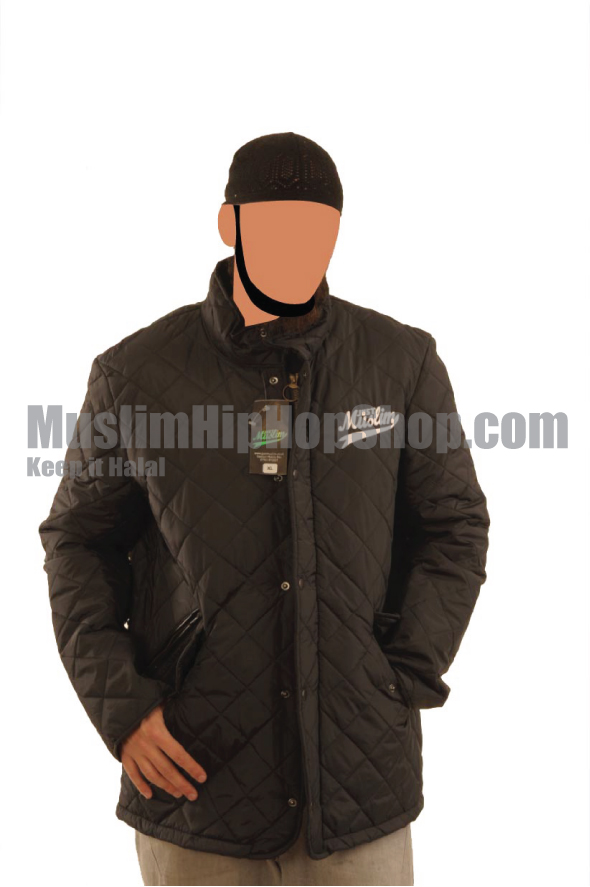 Black Stylish Muslim Jacket