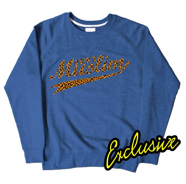 Blue Muslim Design Sweatshirt