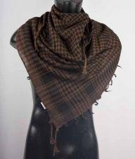 Brown And Black Palestine Scarf Keffiyeh