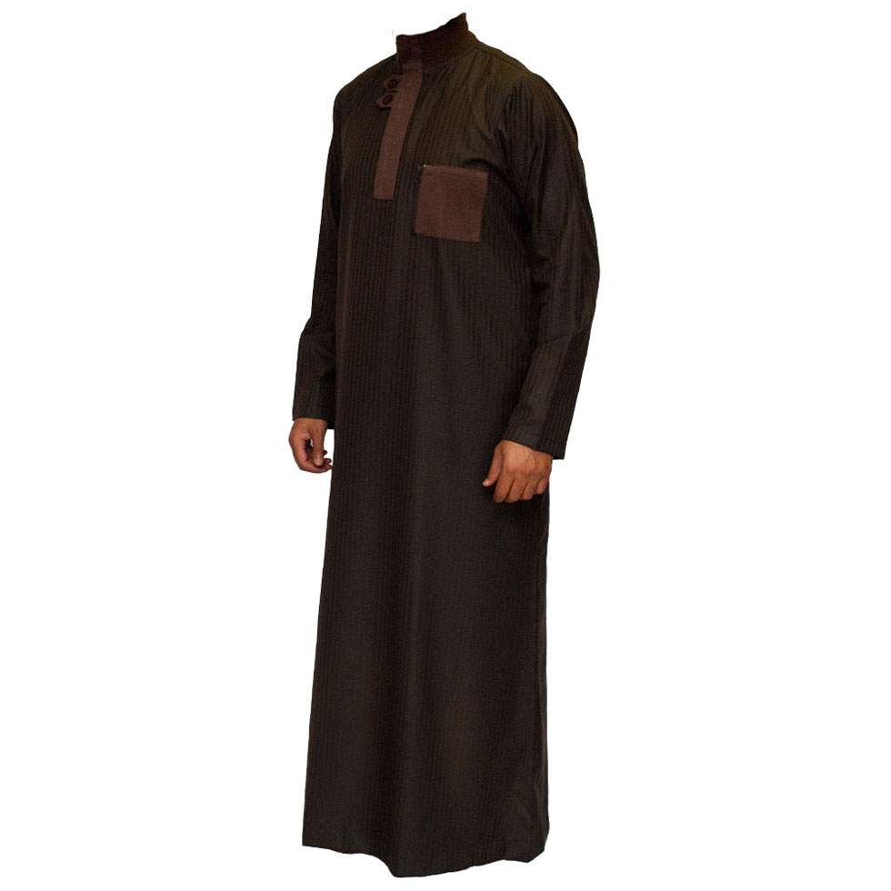 Brown Double Loopy Jubba Thobe