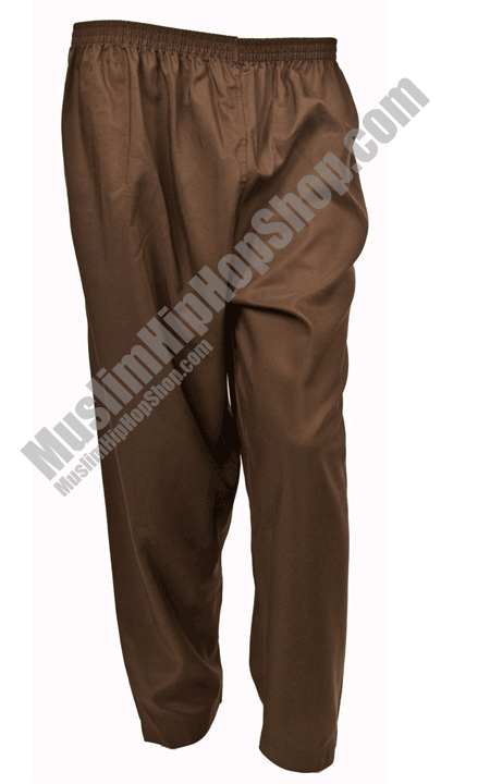 Brown Islamic Trousers for muslim