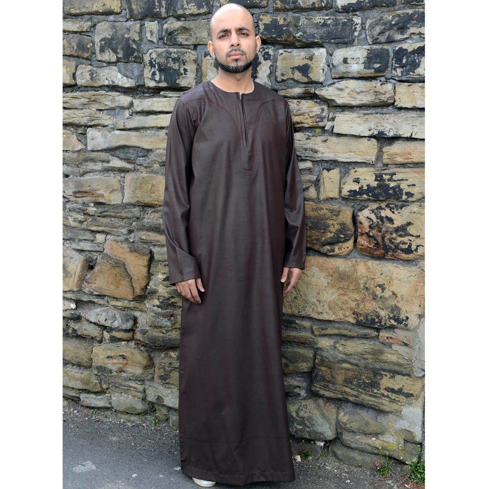 Brown Omani Jubbah
