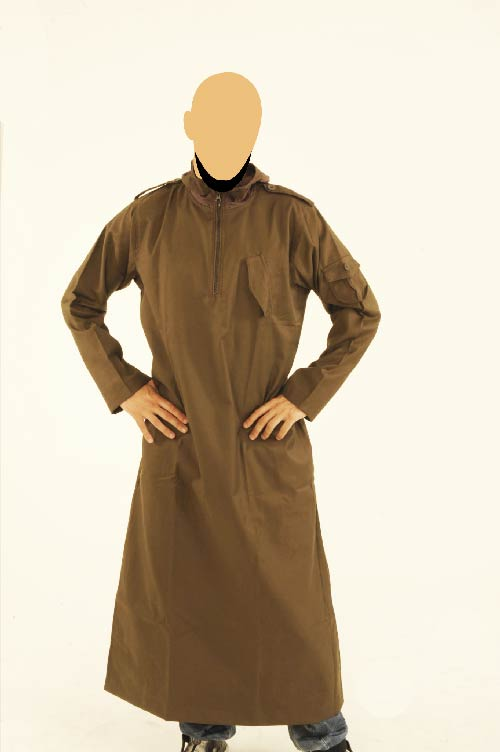 CM Hooded Dark Brown Jubba