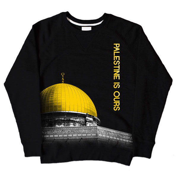 Dome of Rock Black Sweatshirt