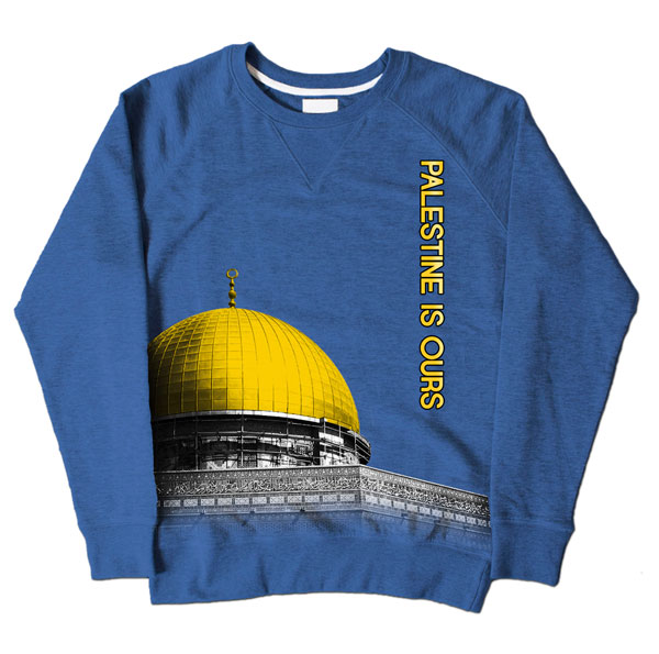 Dome of Rock Blue Sweatshirt