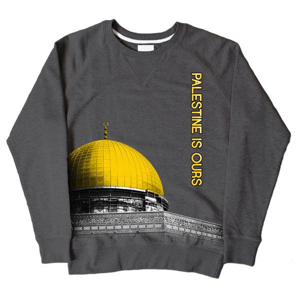 Dome of Rock Dark Grey Sweatshirt