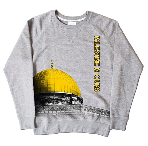 Dome of Rock Grey Sweatshirt