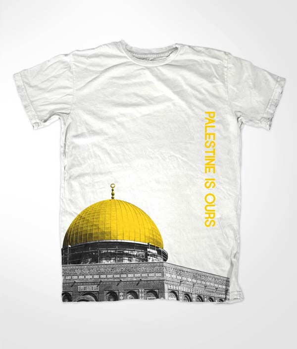 Dome of Rock White T Shirt