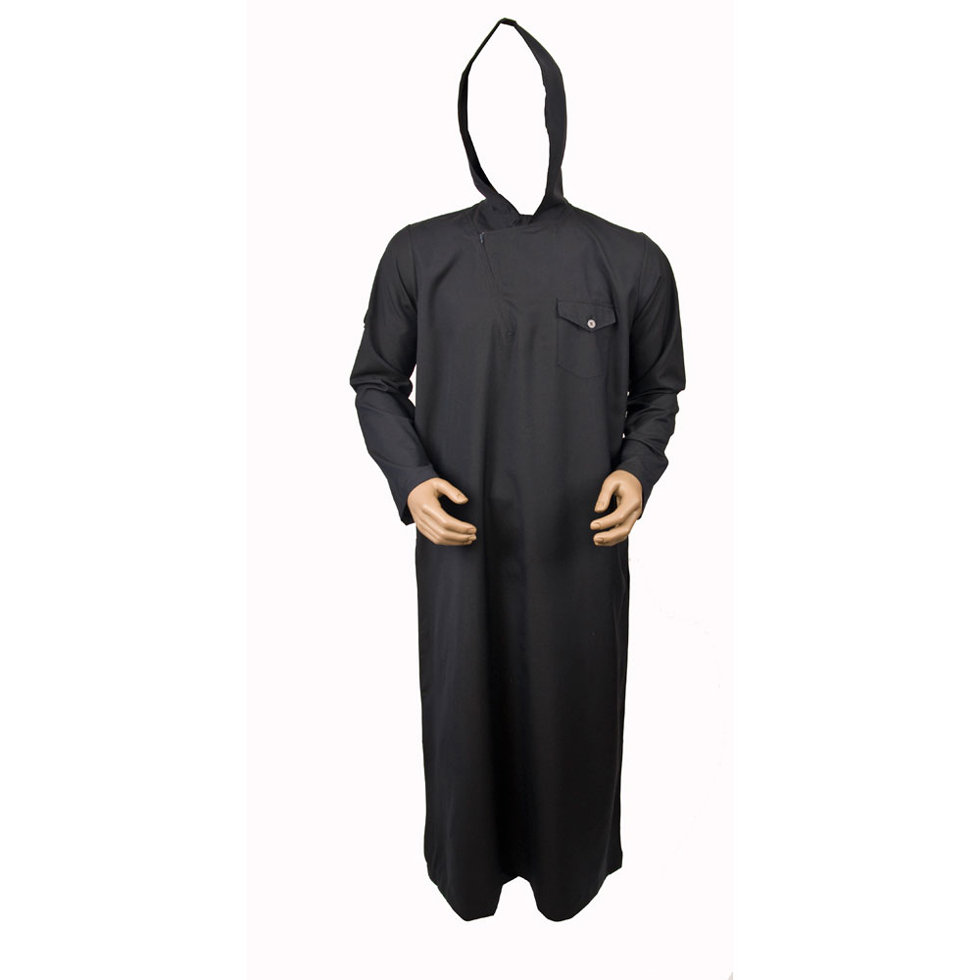 Flap Side Navy Blue Jubbah Thobe