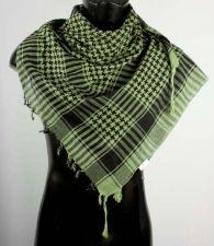 Green And Black Palestinian Scarfs Keffiyeh