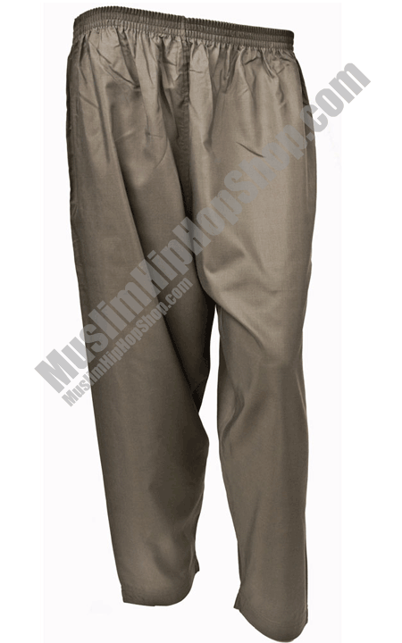 Grey Islamic Trousers for muslim