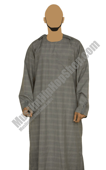 Arrow down suit checkered Jubba