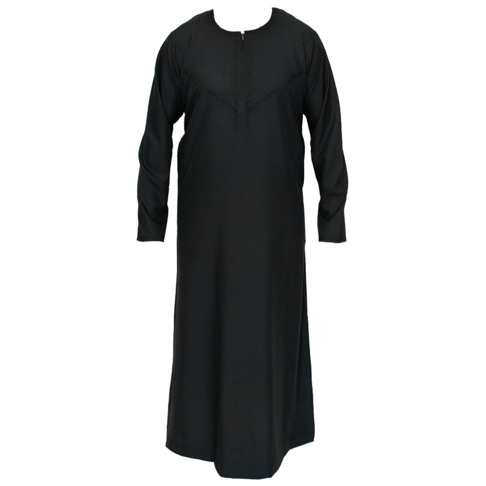 Omani Black Islamic Jubba