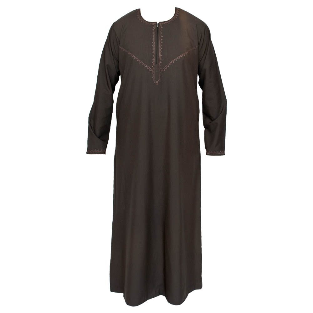 Omani Brown Islamic Jubba