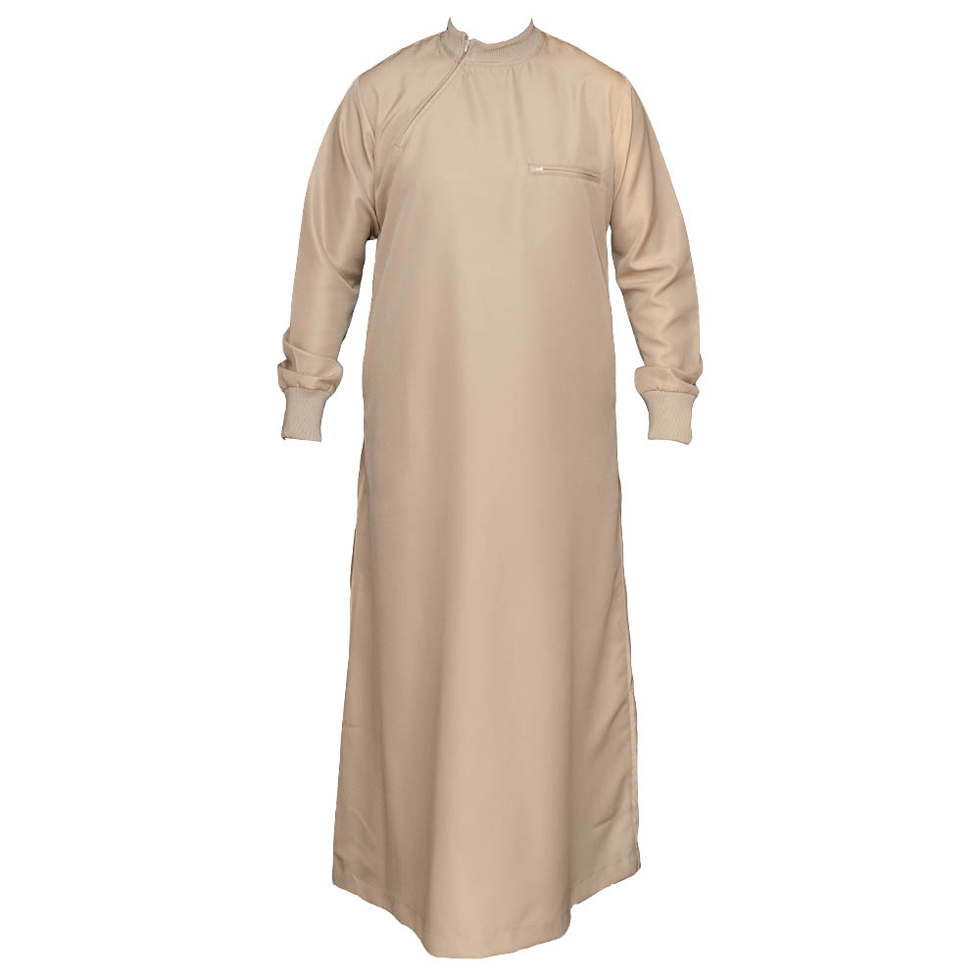 Jumper Cuff Light Brown Jubba Thobe