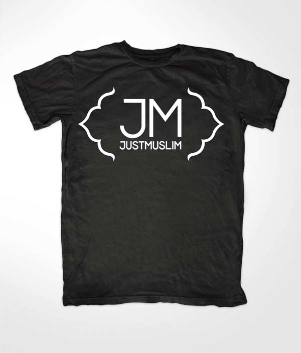 Just Muslim Logo T-shirt
