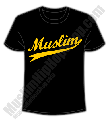 Muslim T shirts Golden