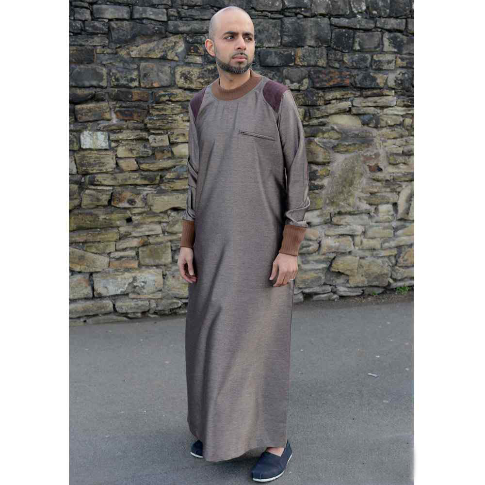 Mens Arm Patch Bronze Brown Jubba