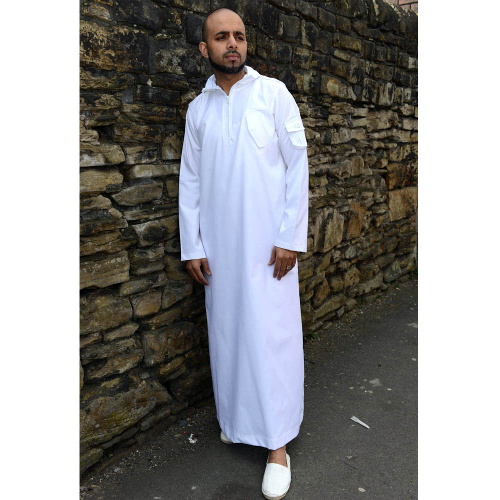 Urban Islamic Jubba White