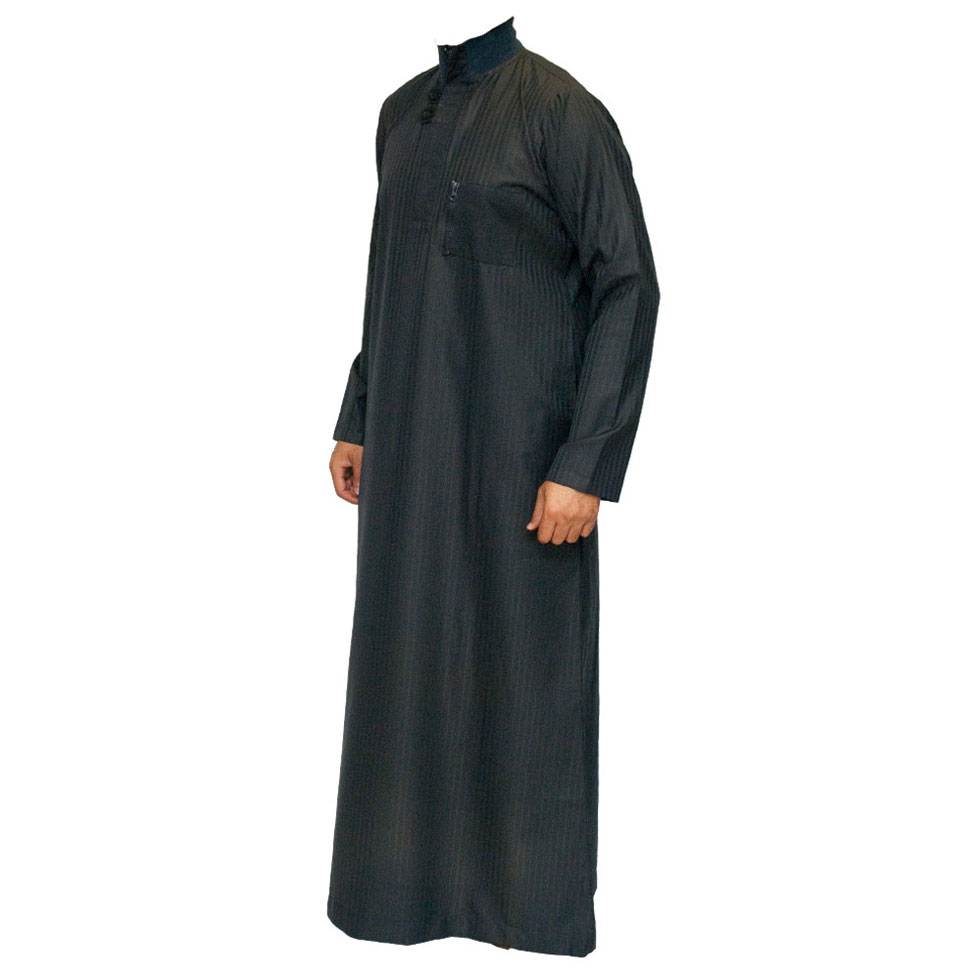Navy Blue Double Loopy Jubbah Thobe