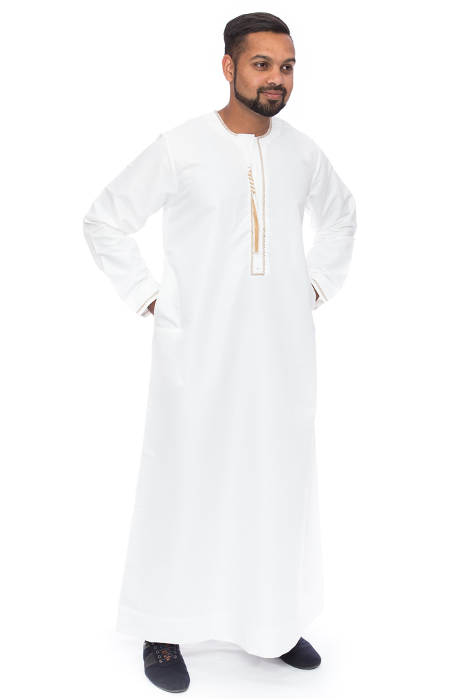 Omani Cream New Mens Jubba