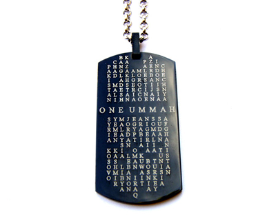 One Ummah Islamic ID Tag