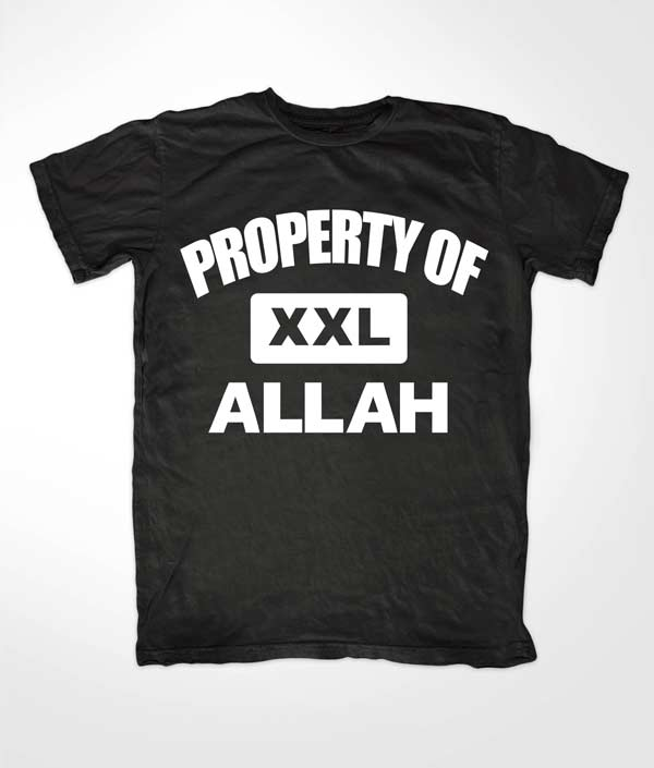 Property of Allah Muslim Tees