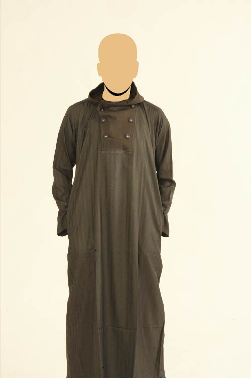 Recolite Hooded Brown Jubba