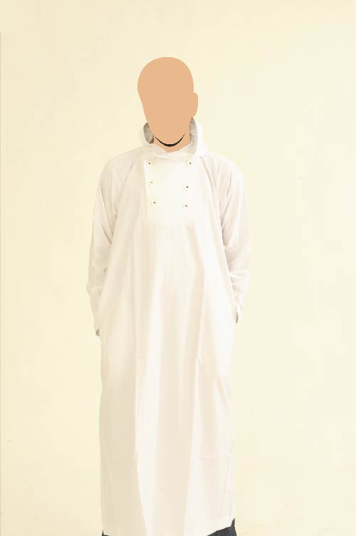 Recolite Hooded White Jubba