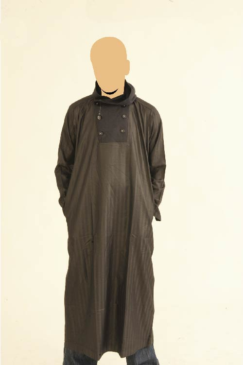 Recolite Navy Hooded Jubba Thobe