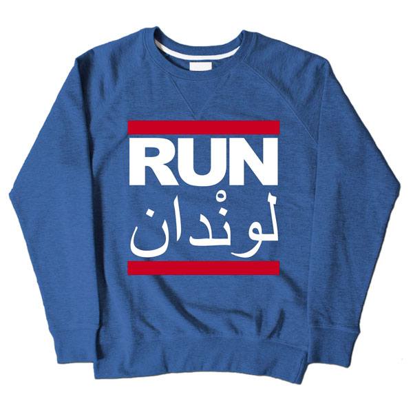 Run LDN Blue Sweatshirt