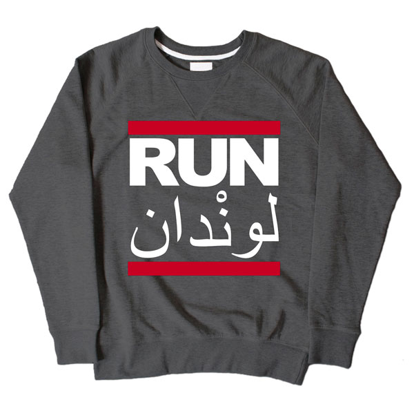 Run LDN Dark Grey Sweatshirt