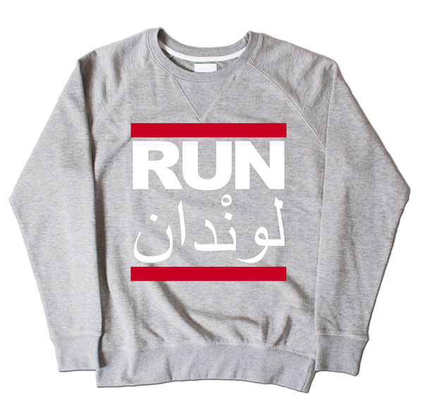 Run LDN Grey Sweatshirt