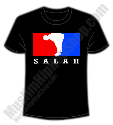 Salah Tees black