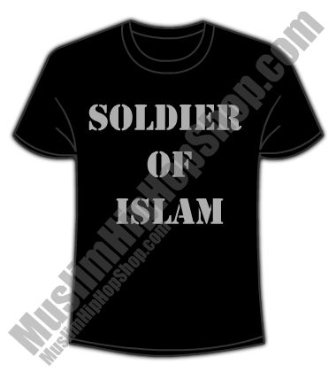 Soldier of Islam Black T shirt