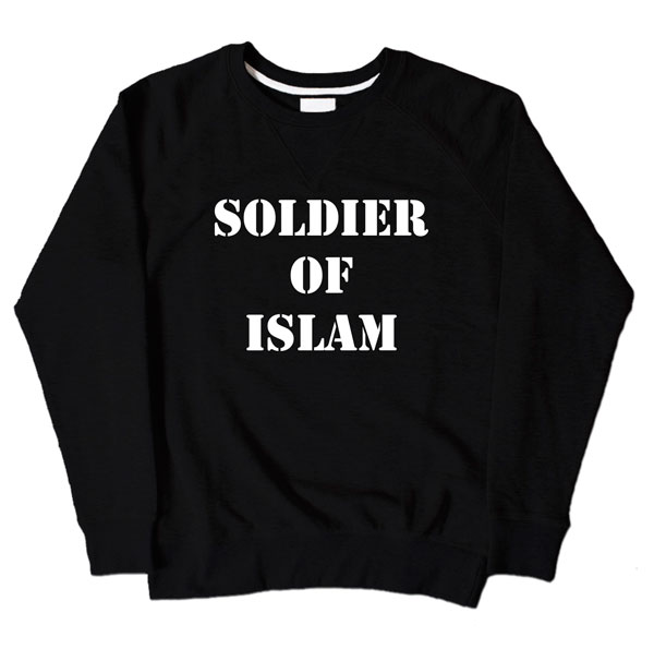 Soldier Of Islam Black Sweatshirt