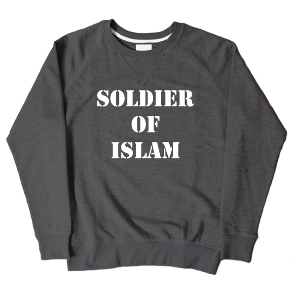 Soldier Of Islam Dark Grey Sweatshirt
