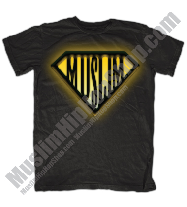 Super Muslim T Shirt Yellow