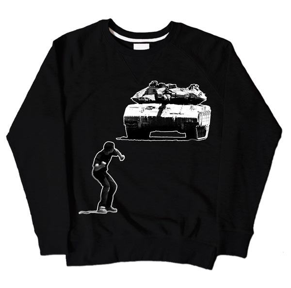 Tank Boy Black Sweatshirt