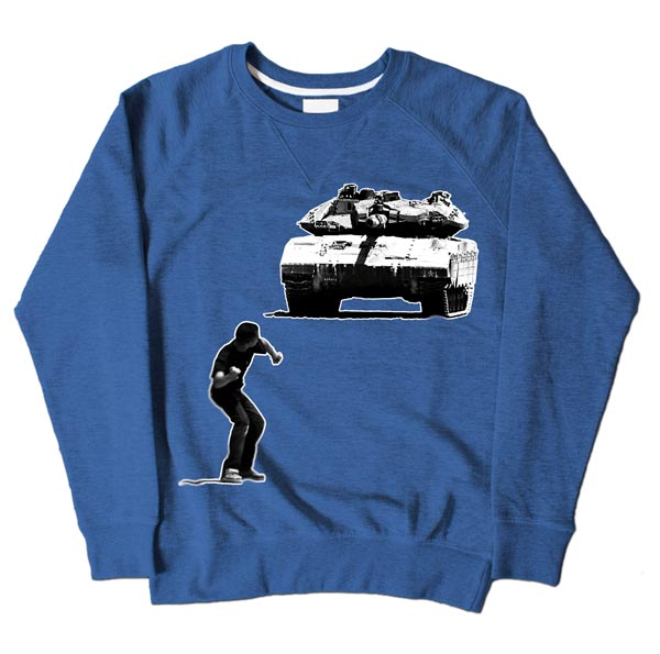 Tank Boy Blue Sweatshirt