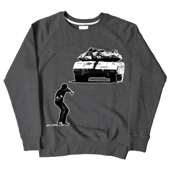 Tank Boy Dark Grey Sweatshirt