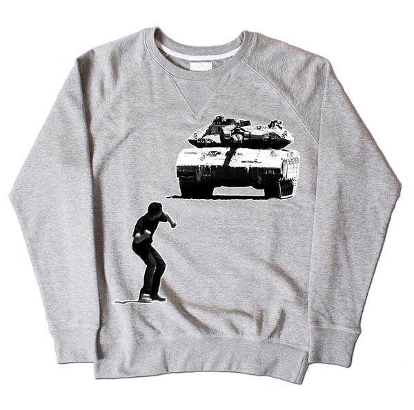 Tank Boy Grey Sweatshirt