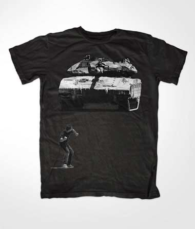 Tank Boy Muslim Black T Shirt