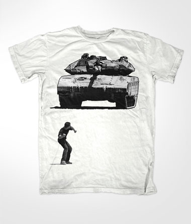 Tank Boy Muslim White T Shirt