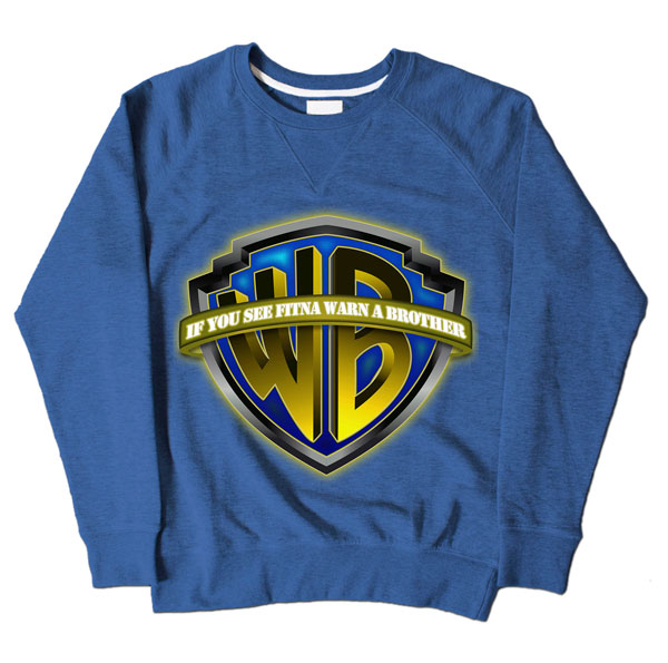 Warn Brother Blue Sweatshirt
