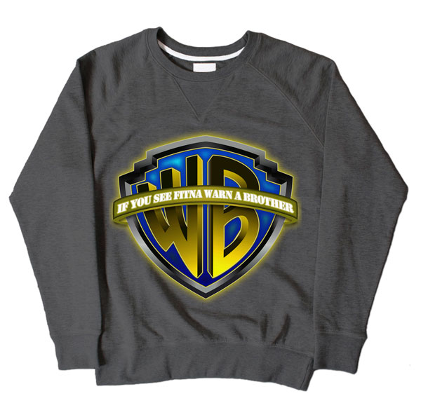 Warn Brother Dark Grey Sweatshirt